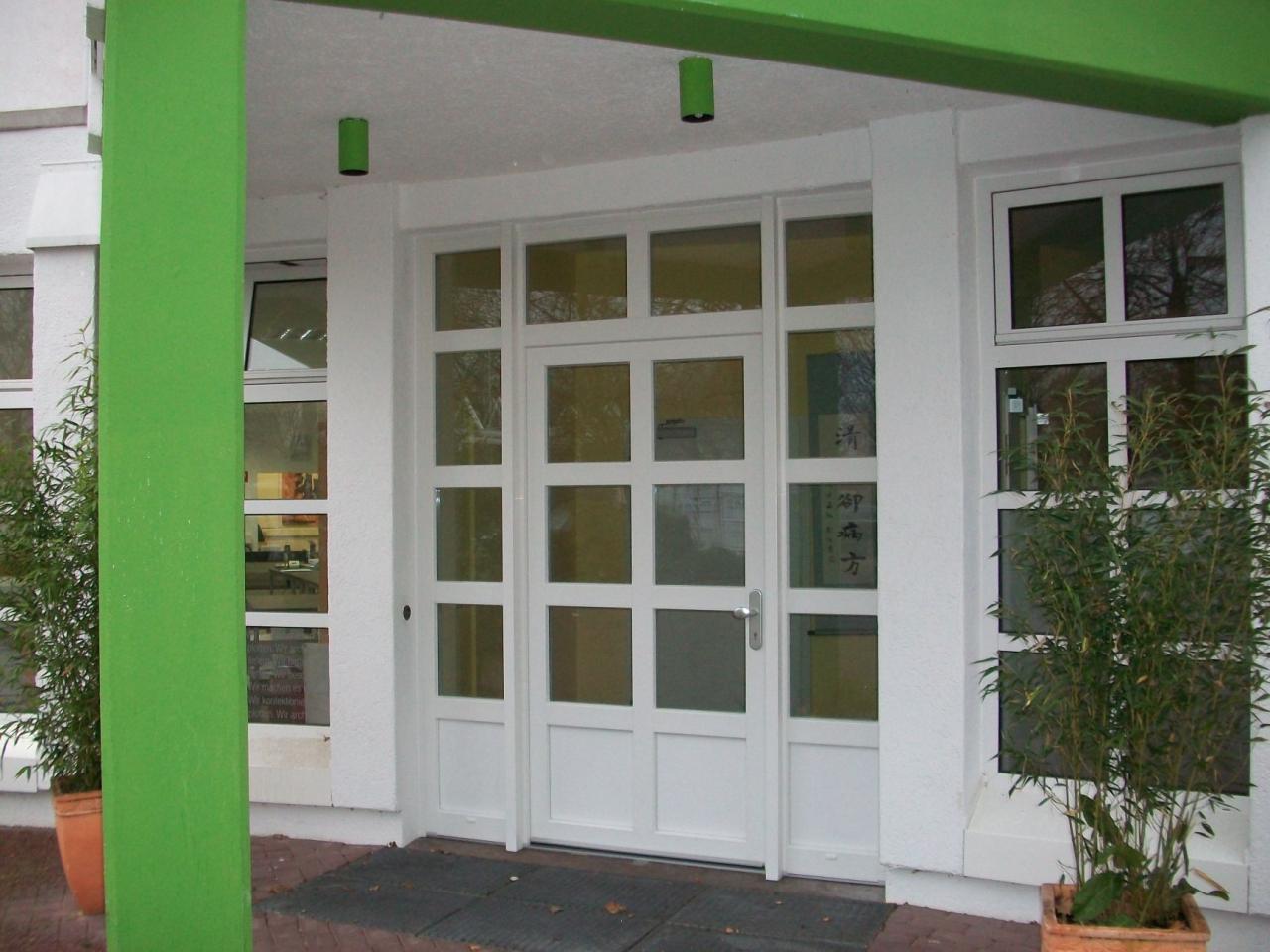 Haustür glas sprossen  Haustüren aus Kunststoff